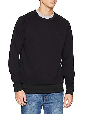 32e0be7127435 G-Star Core Sidezip Sweat, Shirt Homme, Multicolore (DK Black 6484)