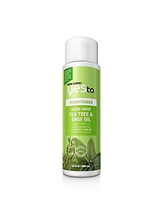 Yes To Naturals Tea Tree & Sage Oil Scalp Relief Conditioner for Dry & Itchy Scalp, 12 Fluid Ounce