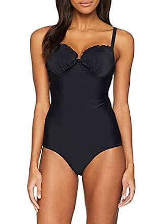 e02eff67b1 Pour Moi Splash Padded Underwired Suit, Maillot Une Pièce Femme, Noir  (Black Black