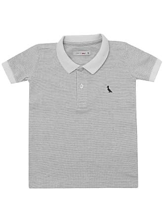 Reserva Mini Camisa Polo Reserva Mini Menino Lisa Cinza