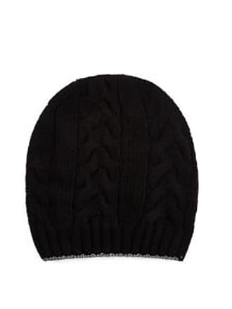 99fd01fca8a Barneys New York Mens Cable-Stitched Wool Beanie - Black