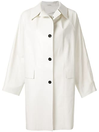Kassl Editions Trench coat clássico - Branco