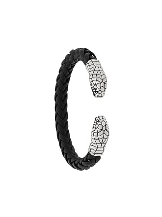 Nove25 Bracelete Snake - Preto