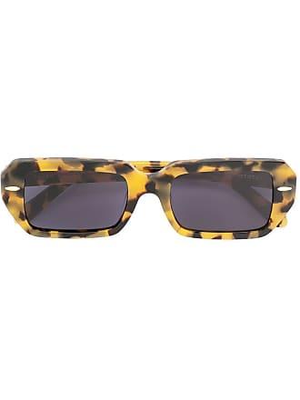 Karen Walker Óculos de sol retangular Ginsberg - Marrom