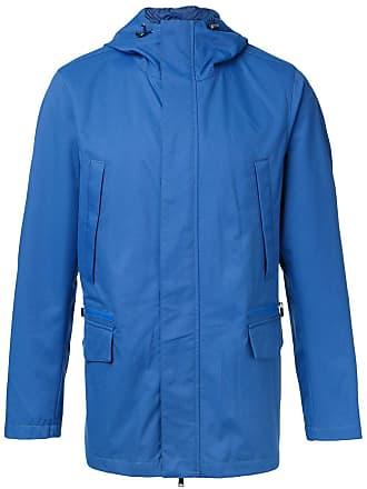 Kent & Curwen hooded anorak jacket - Blue