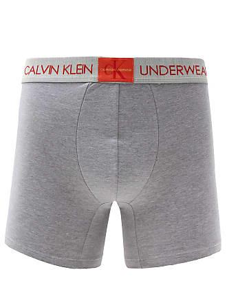 Calvin Klein Underwear Cueca Calvin Klein Underwear Boxer Monogram Cinza