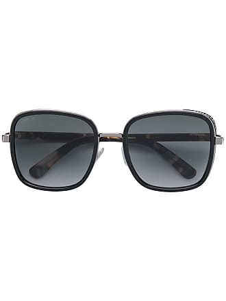 Jimmy Choo Eyewear square frame sunglasses - Preto