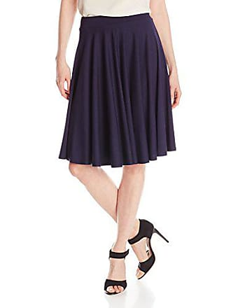 Only Hearts Womens So Fine Circle Skirt, Navy, Small