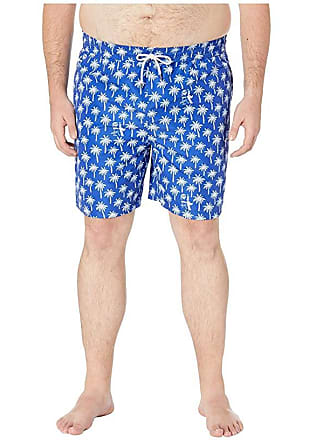 1f665ac325 Polo Ralph Lauren Big and Tall Polyester Traveler Swim Trunks (Palm Tree  Deco) Mens