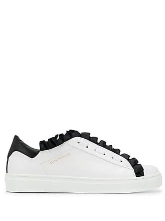 L'autre Chose ruffle trim sneakers - White