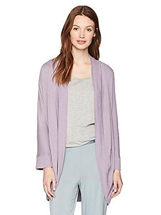 Maidenform Womens Rococo Affairs Cardigan, Purple ash, Large