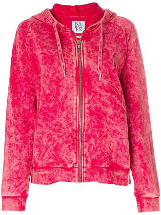 Zoe Karssen zipped hoodie - Red