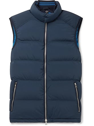Orlebar Brown Aidey Quilted Stretch-nylon Down Gilet - Navy