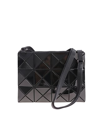 Bao Bao Issey Miyake Soft black shoulder bag with squares and triangles 78d56fd3d0acb