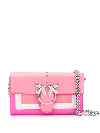Pinko coral pink shoulder bag