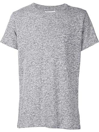 John Elliott + Co Camiseta decote careca - Cinza