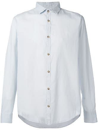 Ecoalf Camisa Cody com gola colarinho - Azul