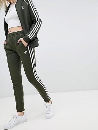ensemble adidas vert kaki femme