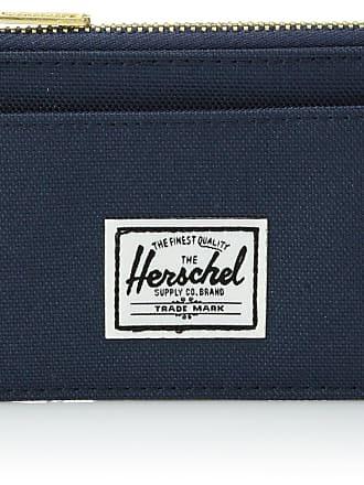 Herschel Herschel Unisexs Oscar RFID Wallet Zip, Navy, One Size