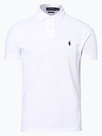 d0568b3f2c3ce9 Polo Ralph Lauren Herren Poloshirt Regular Fit weiss
