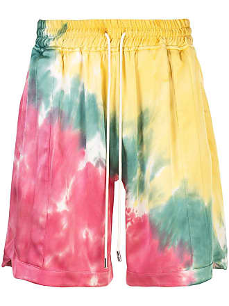 Just Don Bermuda com estampa tie dye - Amarelo