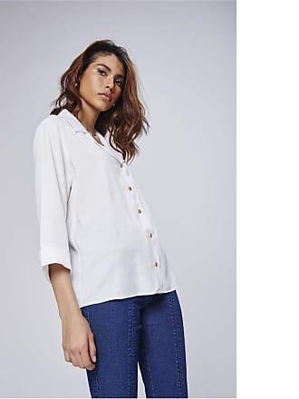 Damyller Camisa Social Feminina Tam: GG/Cor: OFF-WHITE
