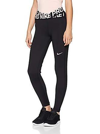 c49d773daca52 Nike Womens Pro Tights AH8776-013, Black/Storm Pink/White, L
