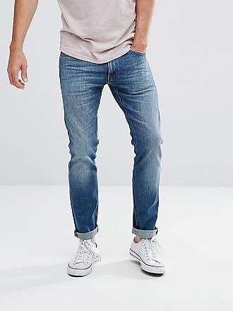 Lee luke skinny fit jean mid wash blue - Blue
