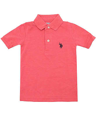 U.S.Polo Association Camiseta U.S. Polo Menino Lisa Rosa