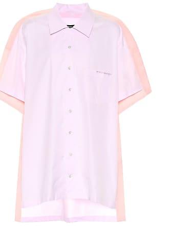 Y / Project Cotton poplin bowling shirt