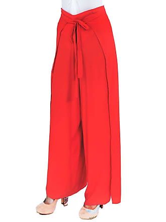 Lucy in the Sky Calça pantalona envelope vermelha
