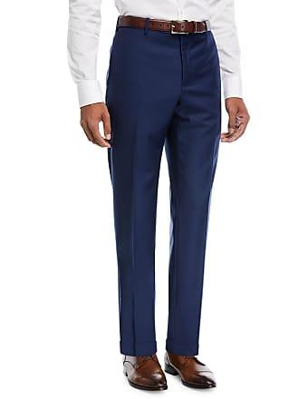 Zanella Parker Platinum Flat-Front Super 150s Trousers