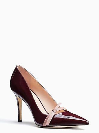 Kate Spade New York Viola Heels, Deep Cherry - Size 6.5