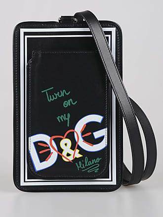 Dolce & Gabbana Leather Cover Smartphone size Unica