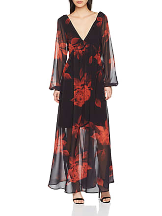5db8c9f50eea Vila Womens Vimelaki 3 4 Sleeve Maxi Dress Dress