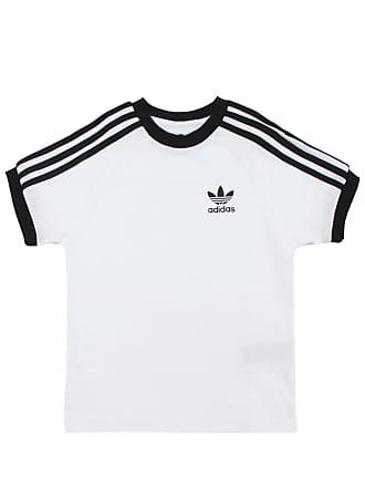 adidas Performance Camiseta adidas Menino Lisa Branca