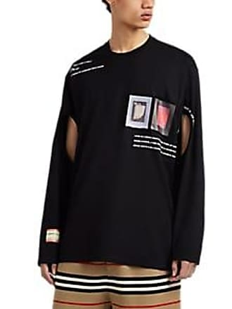 dfe0c40dc31 Burberry Mens Graphic Cotton Oversized T-Shirt - Black Size XL
