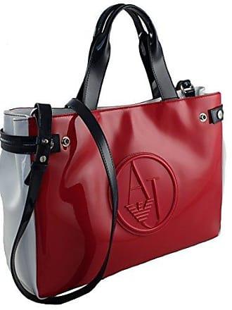 3726806bd32df9 Armani Jeans Tasche Henkeltasche Shopper Bag 922548 rot-weiß-blau