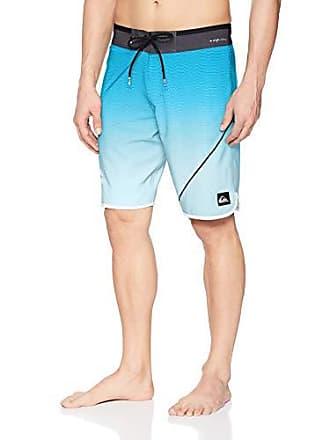 23774f7b36 Quiksilver Mens Highline New Wave 20 Boardshort Swim Trunk, Malibu, 28