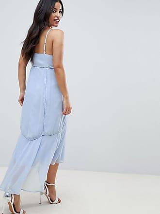 fec9d4900d6 Asos Maternity ASOS DESIGN Maternity cami midi dress with lace Insert -  Multi