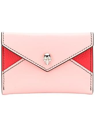 Alexander McQueen Skull cardholder wallet - Pink