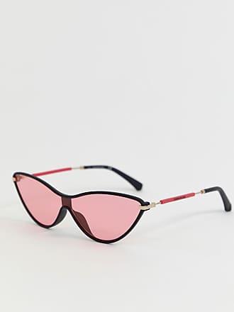 30d34e50c2938 Calvin Klein Jeans CKJ19702S - Lunettes de soleil yeux de chat - Noir