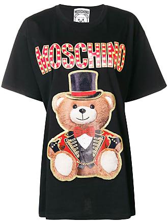 Moschino oversized bear T-shirt - Black