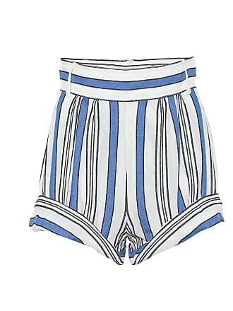 Philosophy di Lorenzo Serafini Striped cotton-blend shorts