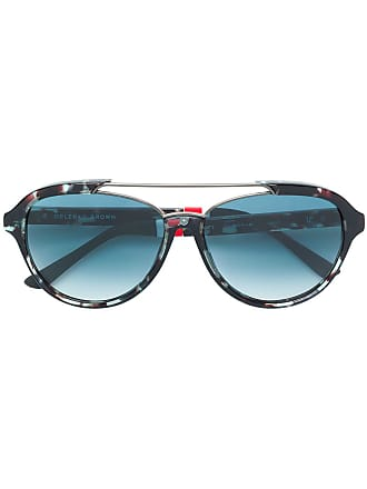 Orlebar Brown Óculos de sol quadrado - Estampado