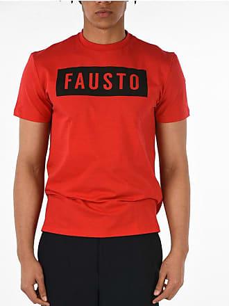 FAUSTO PUGLISI T-shirt Girocollo con Stampa taglia S
