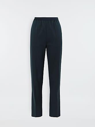 Maison Margiela Maison Margiela Casual Pants Blue Polyester, Virgin Wool, Elastane
