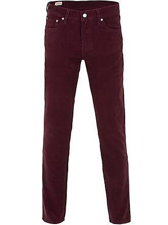 16709001 Levi's 511 Slim Fit Stretch Corduroy Trousers Winetasting