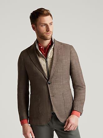 Hackett Mens 2-In-1 Gilet Blazer | Size 40Regular | Tan