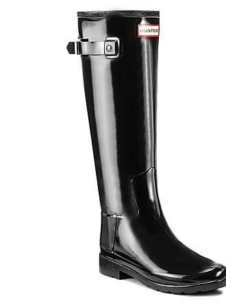 3f1627b0 Hunter Botas de agua HUNTER - Original Refined Gloss WFT1071RGL Black